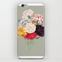 Colorful Flower Bouquet iPhone Skin
