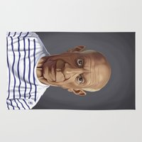 picasso Area & Throw Rugs featuring Celebrity Sunday ~ Pablo Picasso by rob art | illustration