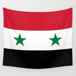 Syrian flag - may PEACE prevail Wall Tapestry
