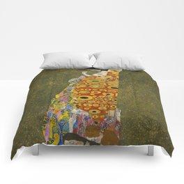 Gustav Klimt - Hope II Comforters