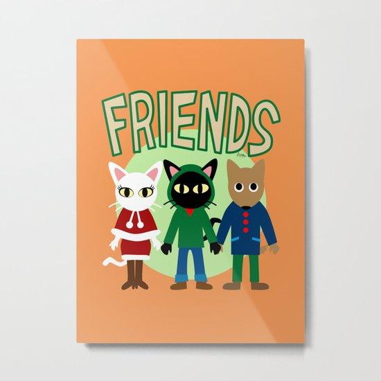 Whim's Friends Metal Print