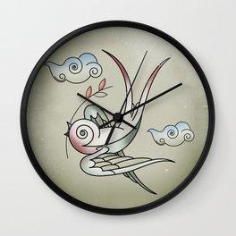 Sparrow Wall Clock