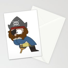 Pirate Shock Stationery Cards