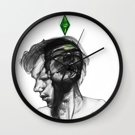 Don't give me orders, I do what I want! Wall Clock