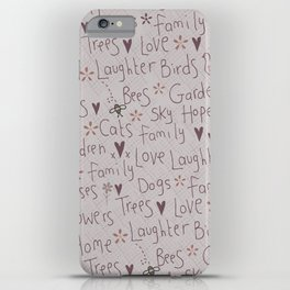 Love & Laughter iPhone Case