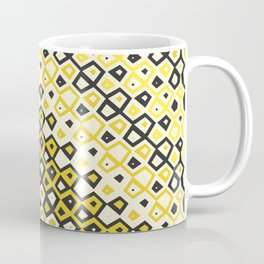 Asymmetry collection: retro shapes and colors Coffee Mug