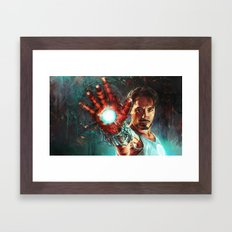 Light 'Em Up Framed Art Print
