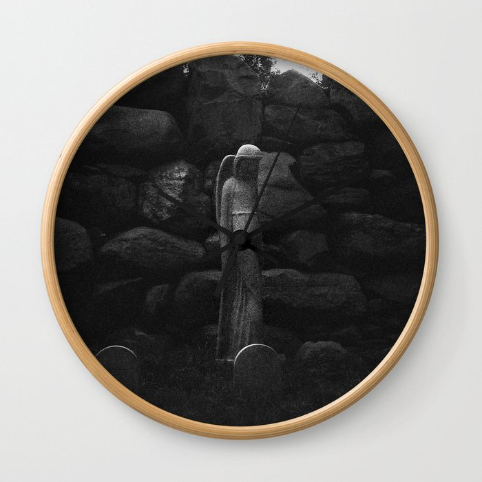 An Angel in Providence Wall Clock