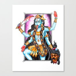 Kali Maa Canvas Print