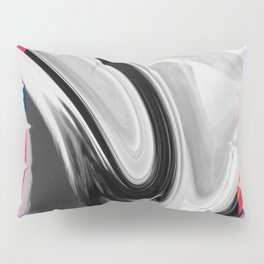 FLAMINGO - BLACK Pillow Sham