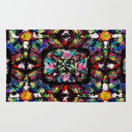 Ecuadorian Stained Glass 0760 Rug