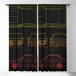 Escort Mk2 RS1800 Blackout Curtain