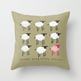 Something Special Sheep Throw Pillow