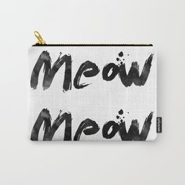 Meow Meow Meow 2 Carry-All Pouch