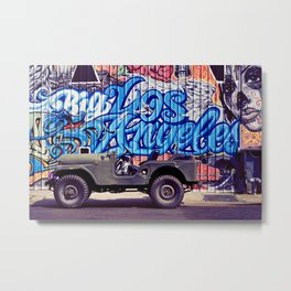 Big Los Angeles Graffiti Metal Print