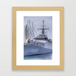 Turkish Navy Tuzla Class Patrol Boat Framed Art Print