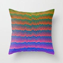 Wavezzz Throw Pillow