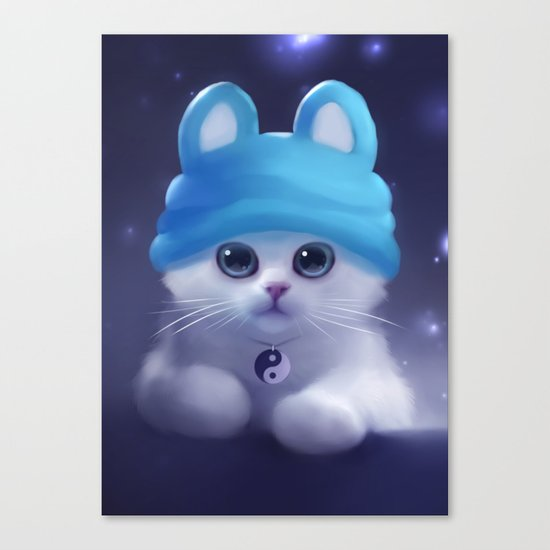 Yang The Cat Canvas Print