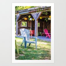 Relax in Colour Art Print