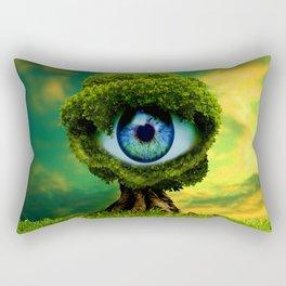 Tree Eye Rectangular Pillow