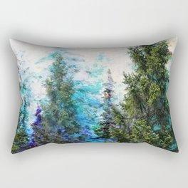 BLUE MOUNTAIN PINE FOREST  VISTA Rectangular Pillow