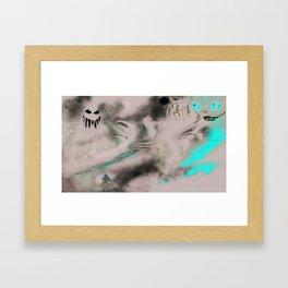 Alice in Horrorland Framed Art Print