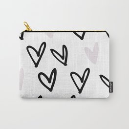 Lovely Hearts - Valentine's pattern Carry-All Pouch