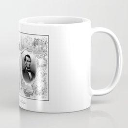 Presidents Washington and Lincoln Coffee Mug