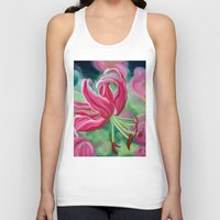 lily Tank Tops featuring lily by Beth Jorgensen