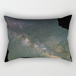 Galaxy Gazing Rectangular Pillow