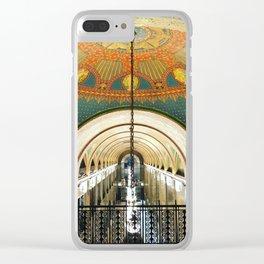 Art Deco Fisher Building Downtown Detroit Clear iPhone Case