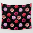 Pattern with camellias by saturnia
