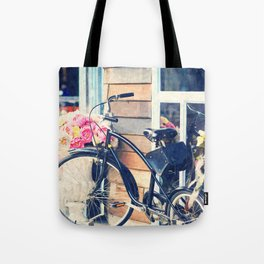 Life is Like Riding a Bicycle. Tote Bag
