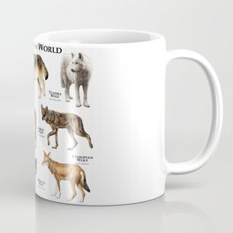 Wolves of the World Coffee Mug