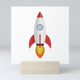 rocket Mini Art Print