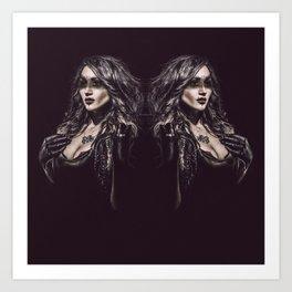 Double Dose Art Print