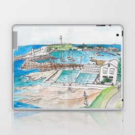 Wollongong Beach Landscape Laptop & iPad Skin