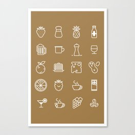 Perfect Ingredients Canvas Print