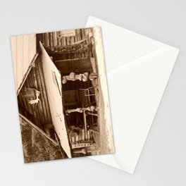 Old Log Cabin Stationery Cards