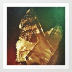 Space Crystal IV Art Print