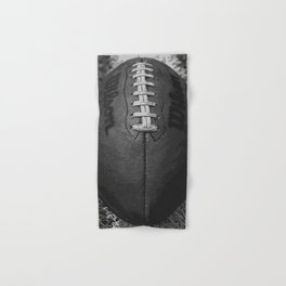 Big American Football - black &white Hand & Bath Towel