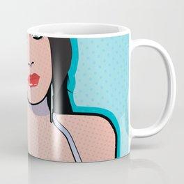 Beautiful Pop Art Woman Barbara Coffee Mug