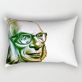 Isaac Asimov  Rectangular Pillow