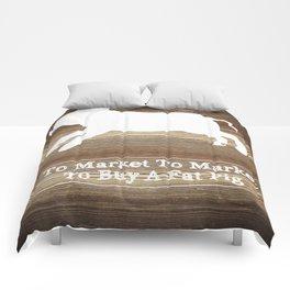 To Market Comforters