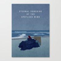 eternal sunshine Canvas Prints featuring ETERNAL SUNSHINE by Oliver Shilling
