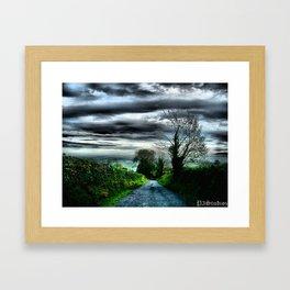 Irish Skies Framed Art Print