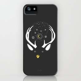 Rudolph and the Moon iPhone Case