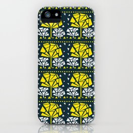 Geometric art pattern 2 iPhone Case