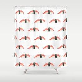 sushi (watercolor) Shower Curtain