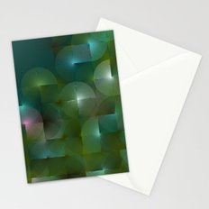 Chameleonic Written Circles - Colours from Chameleon by Ben Geiger Stationery Cards